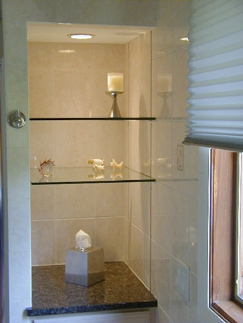 "Heavy 3/8"" Glass Shelves with Shelf Standard Brackets"