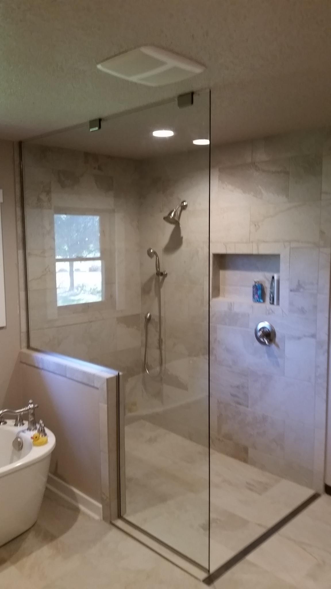 Fixed Panel W/ No Door | Fixed panel mo door | Reflections Glass and Mirror & Fixed Panel W/ No Door | Fixed panel mo door | Reflections Glass and ...