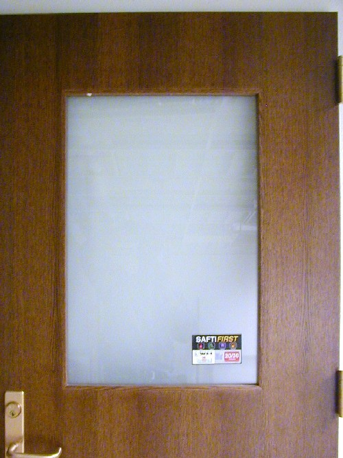 20 minute fire rated superlite I XL safety impact glass